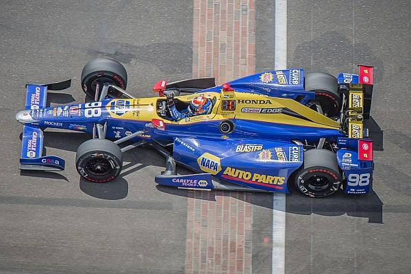 IndyCar Rossi jokes he