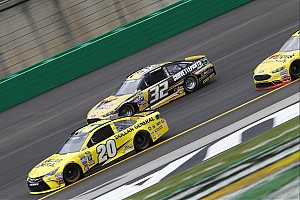 NASCAR Sprint Cup Breaking news After first Cup practice, Goodyear says