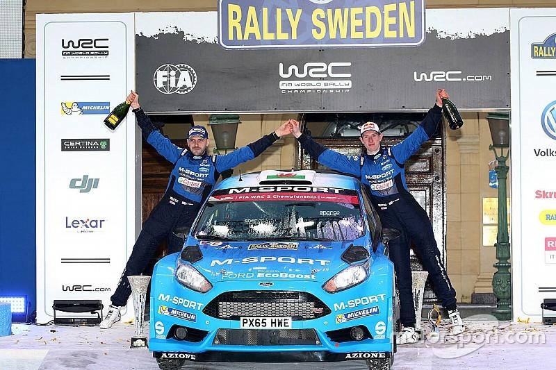 Østberg secures Sweden podium