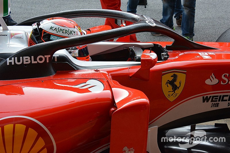Bianchi's father not convinced by F1 Halo design