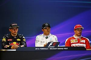 Formula 1 Press conference Belgian GP: Post-qualifying press conference