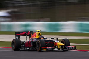 GP2 Qualifying report Sepang GP2: Gasly survives early spin, tops red-flagged qualifying