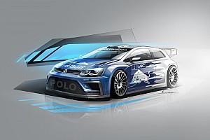 WRC Breaking news Volkswagen reveals first image of 2017 WRC car