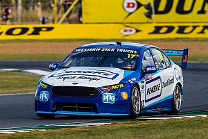 Supercars Breaking news Ipswich Supercars: Whincup fastest, Pye crashes hard