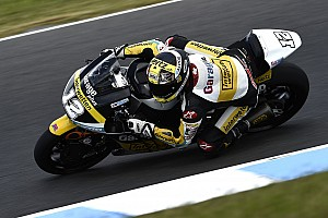 Moto2 Race report Australian Moto2: Luthi wins title-changing thriller