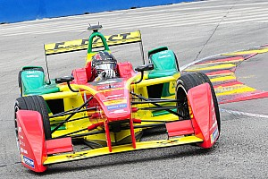 Formula E Practice report Long Beach ePrix: Abt shocks by beating Buemi in second practice