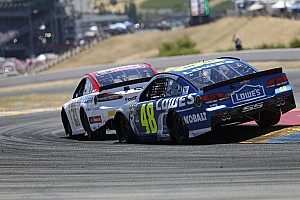 NASCAR Sprint Cup Interview Johnson in favor of further reducing spoiler height in Cup cars