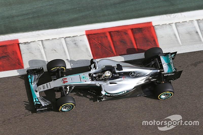 """Hamilton """"solely focused"""" on getting Abu Dhabi pole"""