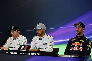 Formula 1 Press conference US GP: Post-qualifying press conference