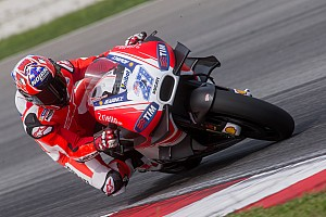 """MotoGP Breaking news Stoner: """"No intention"""" to race after joining Sepang test"""