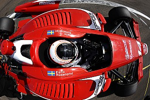 Indy Lights Practice report Rosenqvist completes Friday practice clean sweep on Lights debut
