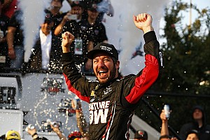 NASCAR Sprint Cup Race report Truex wins at Dover as four drivers are eliminated from the Chase