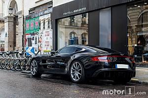 Auto Actualités Une rare Aston Martin One-77 à Paris