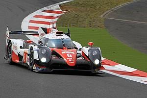 """WEC Breaking news Toyota teammates praise """"shining star"""" Kobayashi after Fuji win"""
