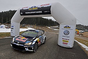 WRC Leg report Sweden WRC: Ogier leads, Latvala and Neuville in trouble