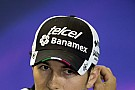 Formula 1 Force India sure Perez will stay on in 2017