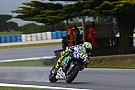 Rossi demoted to 20th after losing FP1 times