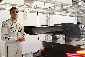 DTM News BMW zeigt neuen DTM-Heckflügel 2017 mit verändertem DRS