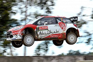 WRC Leg report Portugal WRC: Meeke grabs early advantage from Ogier