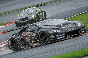 Asian GT Race report Maiden GT Asia Series victory for Lamborghini Huracan