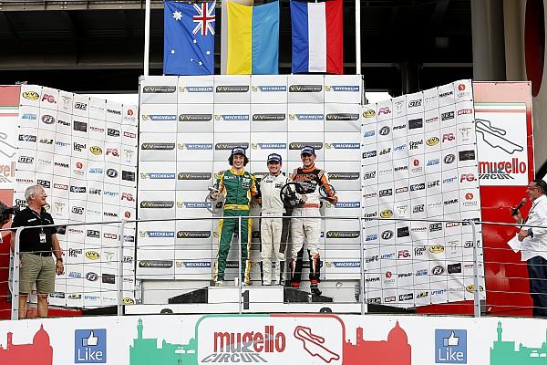 Олексій Чуклін перемагає на етапі Муджелло Європейській серії VdeV