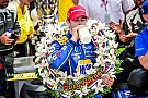 IndyCar Rookie Rossi survives on fuel to win historic 100th Indianapolis 500