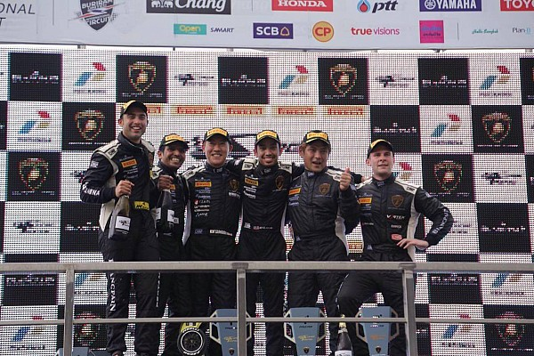 Lamborghini Super Trofeo Buriram Super Trofeo: Ebrahim/Malagamuwa score another double podium