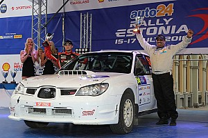 ERC Results Estonia ERC: Takale/Young finish second on ERC debut in Open category