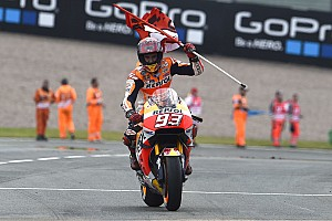 """MotoGP Breaking news Marquez took """"a lot of risks"""" on way to German GP victory"""