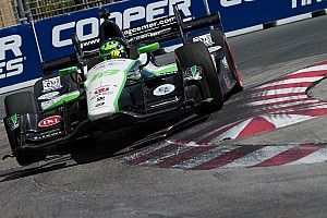 """IndyCar Breaking news Coyne """"too far up the grid"""" to use alternate strategy"""