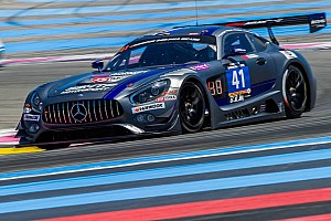 Endurance Race report HTP Motorsport Mercedes leads after eventful starting period