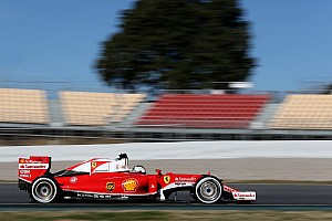 Formula 1 Testing report Vettel fastest as Mercedes suffers first stoppage