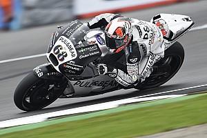 MotoGP Practice report Silverstone MotoGP: Hernandez leads rain-affected warm-up