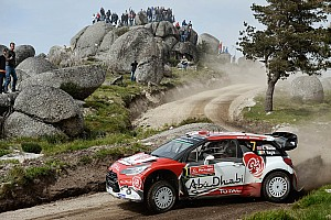 WRC Leg report Portugal WRC: Meeke closes on win, Mikkelsen moves into second