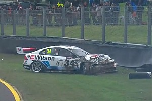 Supercars Breaking news Golding: I was trying to stay alive