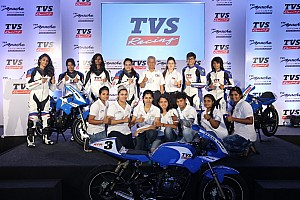 Other bike Breaking news Abdullah launches all-women racing academy with TVS