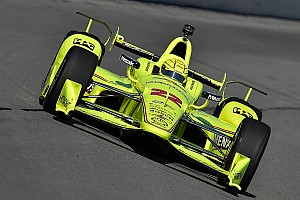 """IndyCar Breaking news Pagenaud's points lead slashed due to """"weird"""" accident"""