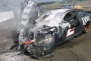 NASCAR Sprint Cup Testing report Keselowski walks away from big testing shunt at Watkins Glen
