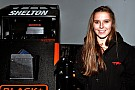 Midget Chili Bowl rookie Holly Shelton is quickly scaling the racing ladder