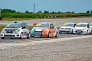 Российский Туринг Команда Carville Racing на подиуме этапа РСКГ