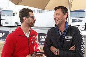 WTCC Breaking news WTCC boss proud to have revived Lopez's international career