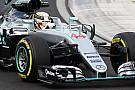 Formula 1 Hamilton's seat broke in FP2 accident