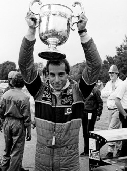 Race winner Bertrand Fabi