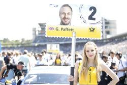 Grid girl of Gary Paffett, Mercedes-AMG Team ART, Mercedes-AMG C63 DTM