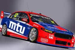 DJR Team Penske livery for Fabian Coulthard