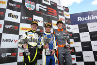 BF3 Photos - Podium: winner Lando Norris, Carlin, second place Ricky Collard, Carlin, third place Matheus Leist, Double R Racing