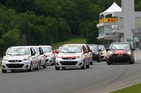 Nissan Micra Cup Photos - Stefan Rzadzinski leads