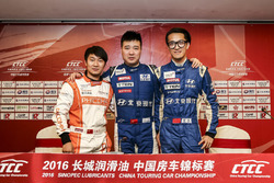 China Cup Class qualifying TOP3 drivers