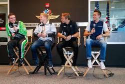 Conor Daly, Dale Coyne Racing Honda, Spencer Pigot, Rahal Letterman Lanigan Racing, Max Chilton, Chip Ganassi Racing Chevrolet, Mikhail Aleshin, Schmidt Peterson Motorsports Honda