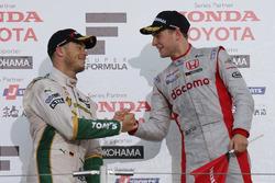 Podium: race winner Stoffel Vandoorne, Dandelion Racing, second place Andre Lotterer, Team Tom's